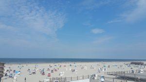 Sankt Peter Ording weitläufiger Strand